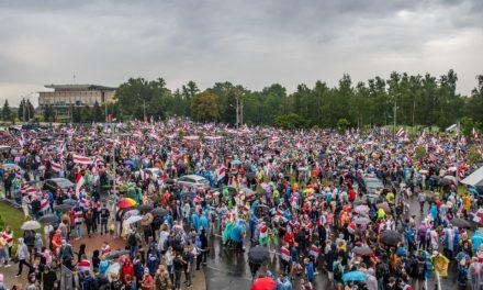 Soutien total aux mobilisations contre l'autocratie de Loukachenko